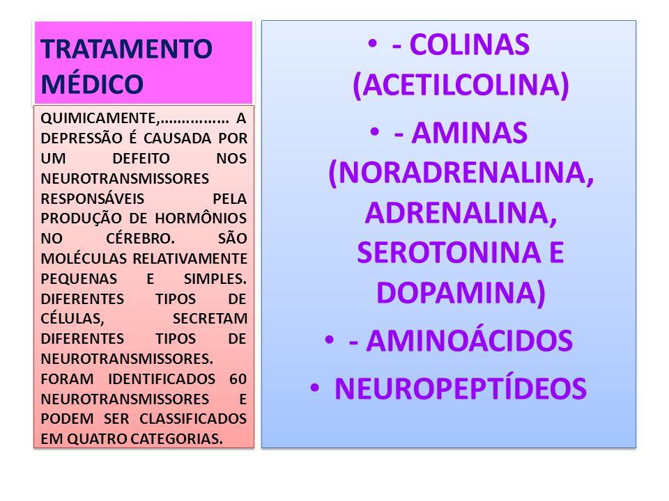 - COLINAS (ACETILCOLINA)
