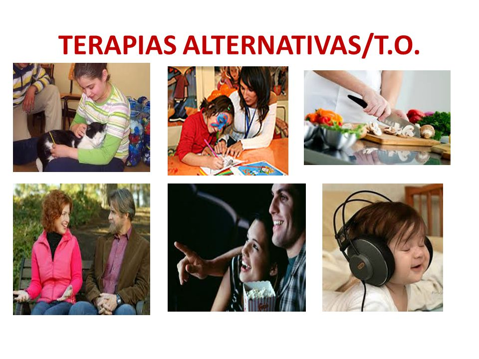 TERAPIAS ALTERNATIVAS/T.O.