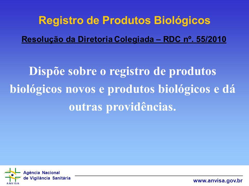 Registro de Produtos Biológicos