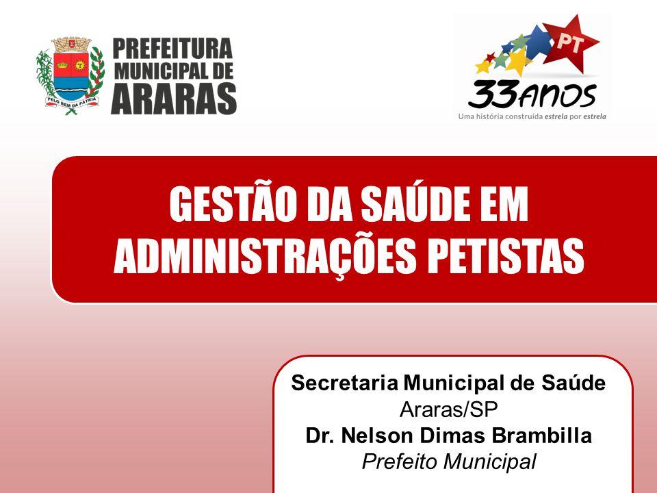 Secretaria Municipal de Saúde Dr. Nelson Dimas Brambilla