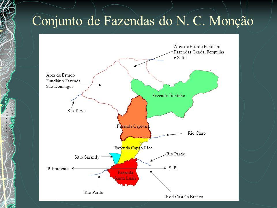 Conjunto de Fazendas do N. C. Monção