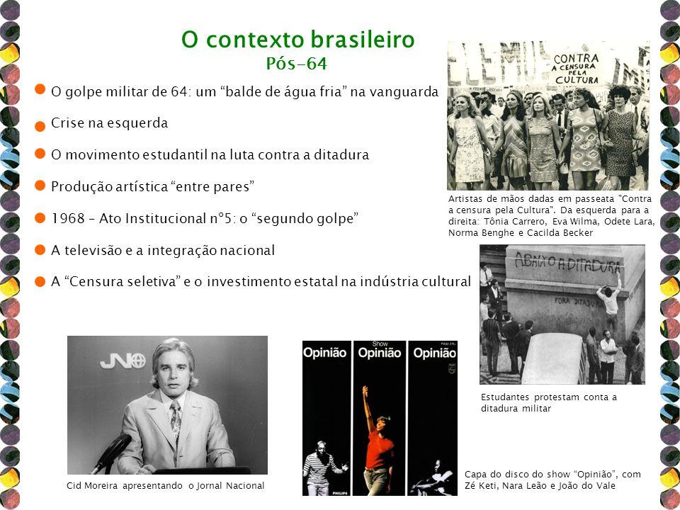 O contexto brasileiro Pós-64