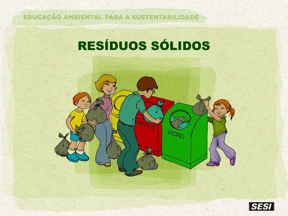 RESÍDUOS SÓLIDOS O que se entende por resíduos sólidos ou LIXO