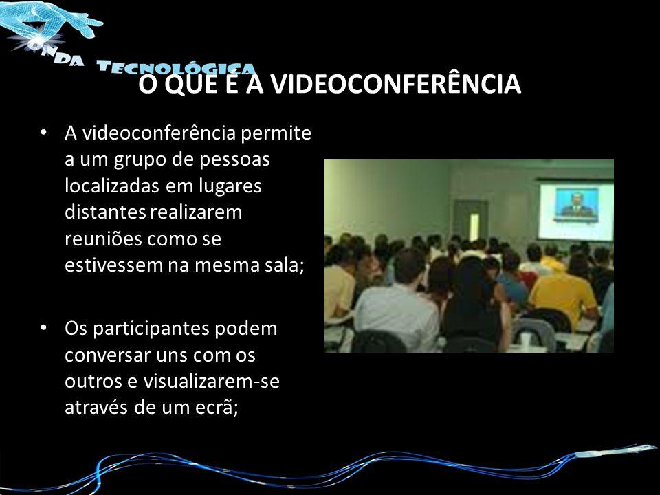 O QUE É A VIDEOCONFERÊNCIA