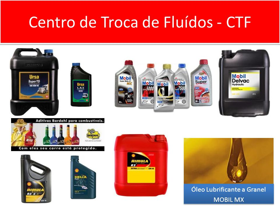 Centro de Troca de Fluídos - CTF 4
