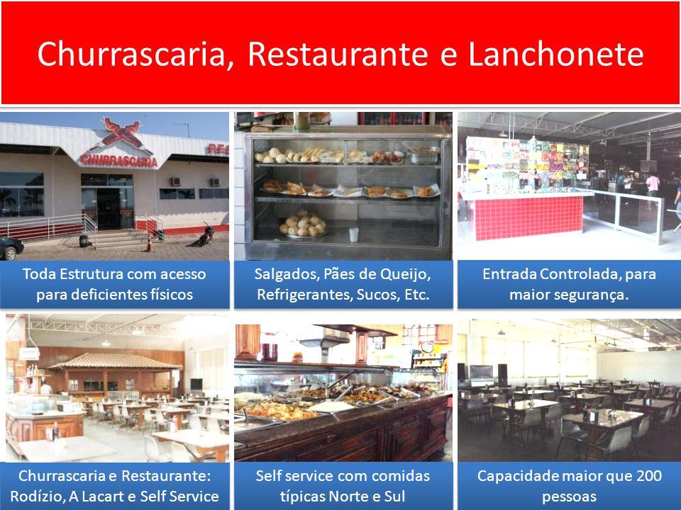 Churrascaria, Restaurante e Lanchonete