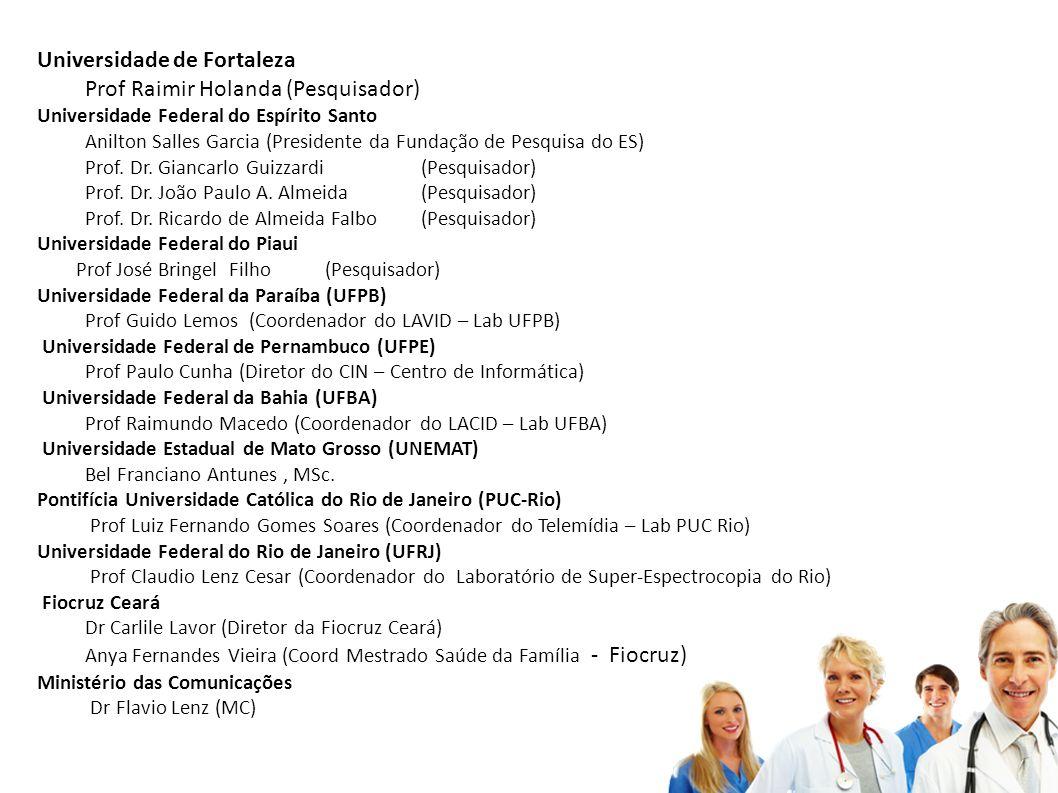 Universidade de Fortaleza Prof Raimir Holanda (Pesquisador)
