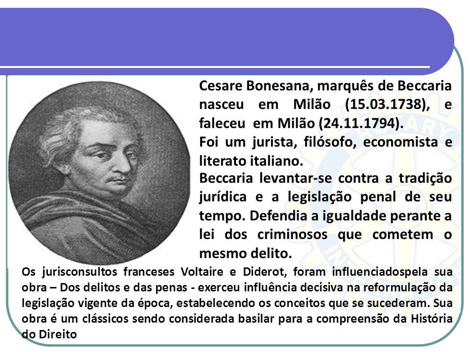 Foi um jurista, filósofo, economista e literato italiano.