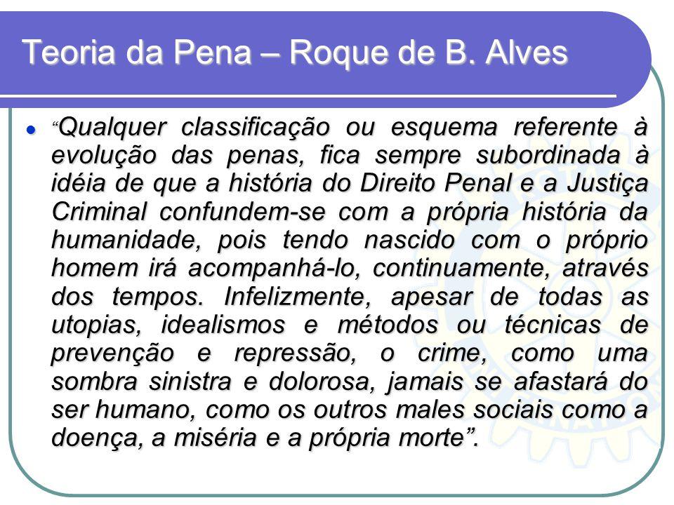 Teoria da Pena – Roque de B. Alves