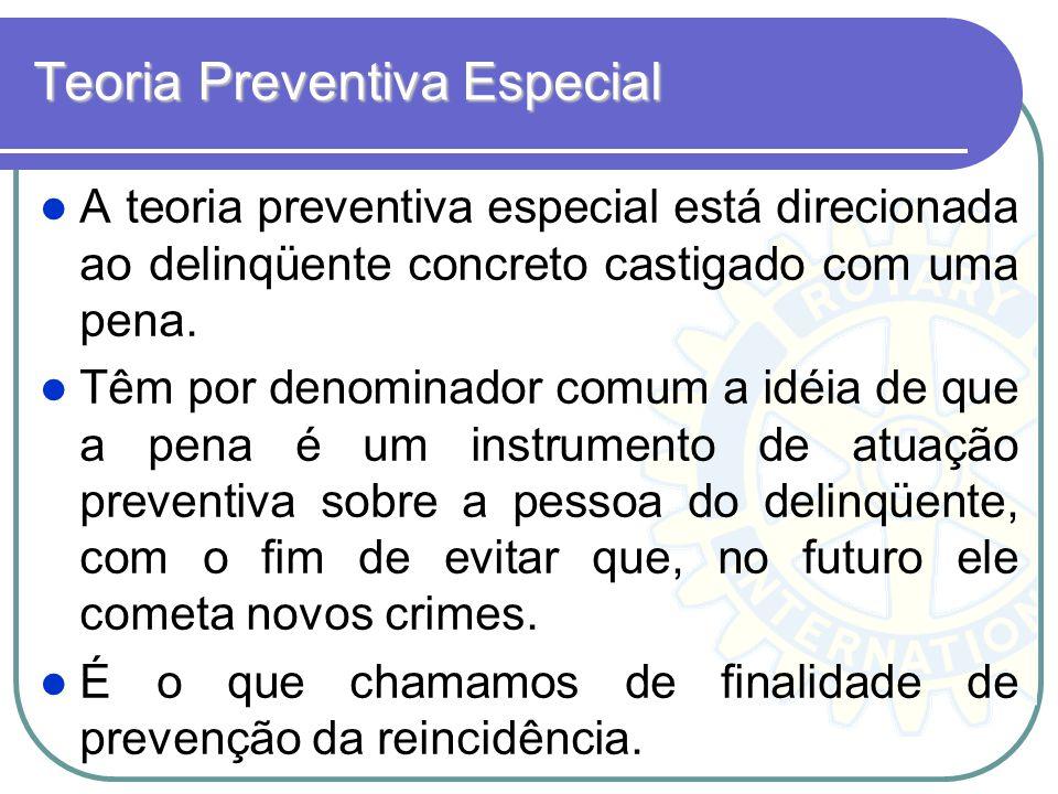 Teoria Preventiva Especial