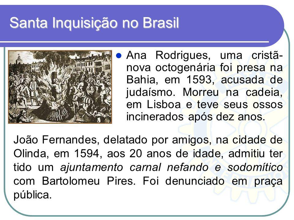 Santa Inquisição no Brasil