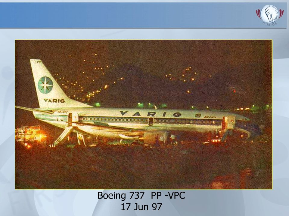 Boeing 737 PP -VPC 17 Jun 97