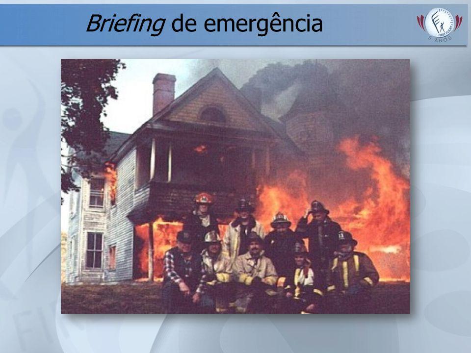 Briefing de emergência