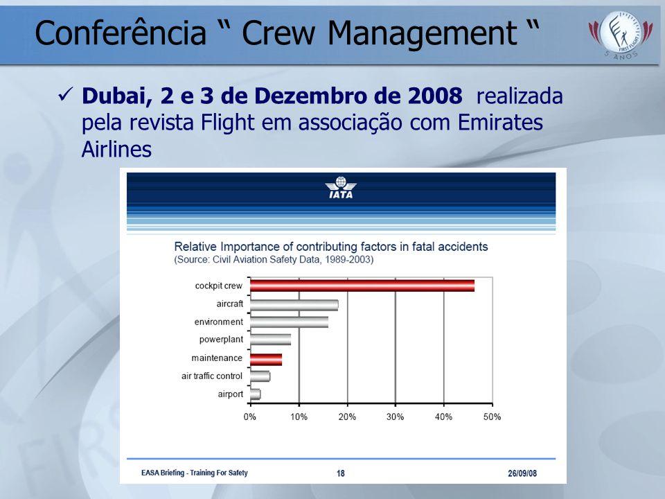Conferência Crew Management
