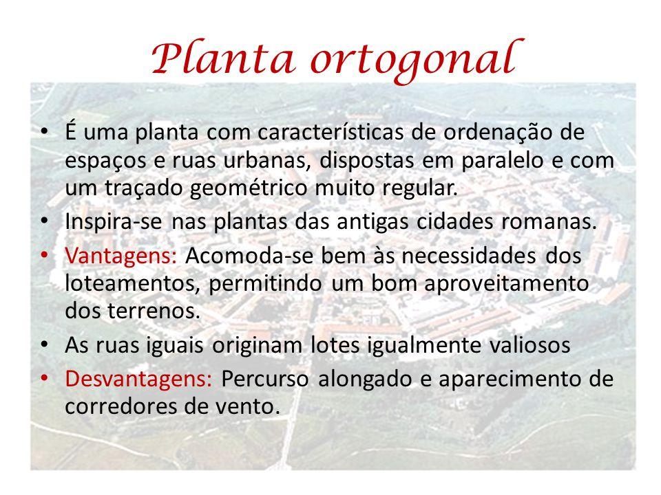 Planta ortogonal