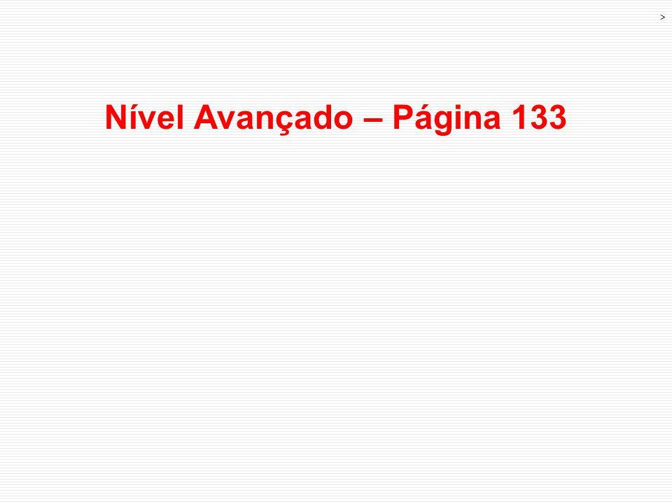Nível Avançado – Página 133