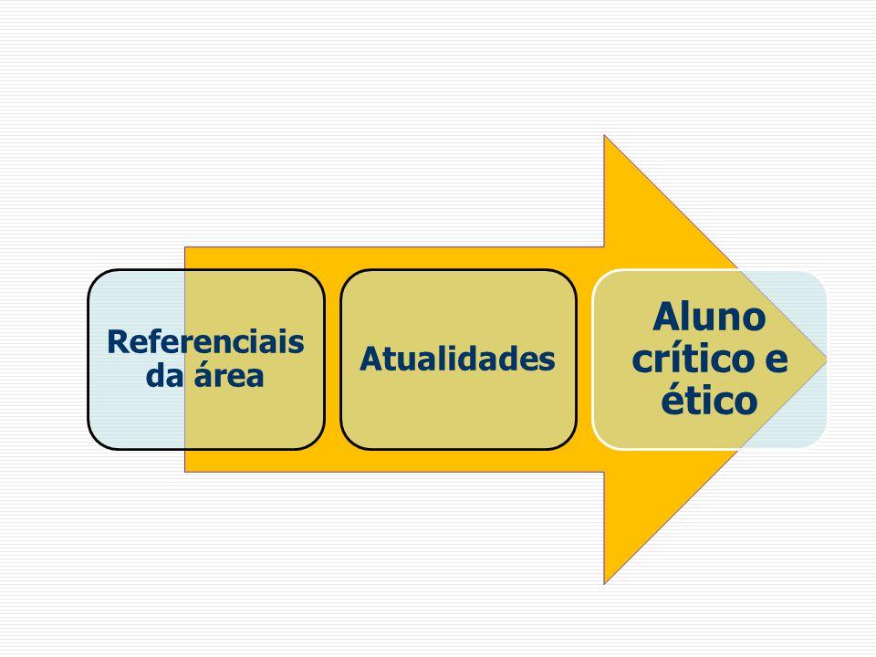 Referenciais da área Atualidades Aluno crítico e ético