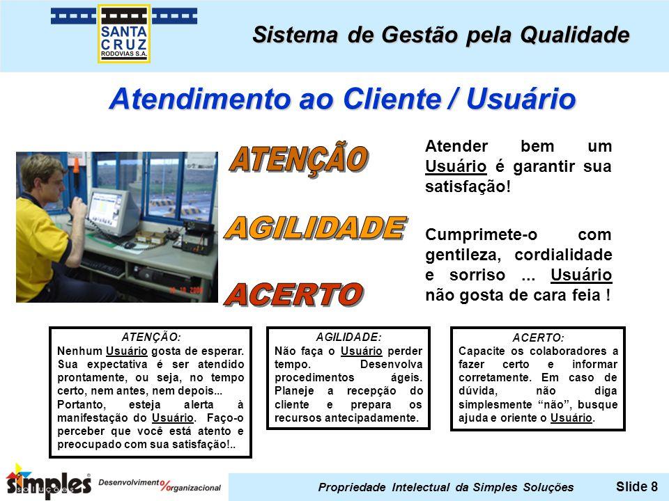 Atendimento ao Cliente / Usuário