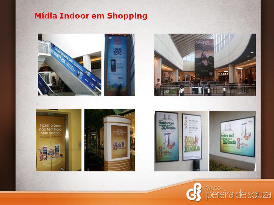 Mídia Indoor em Shopping