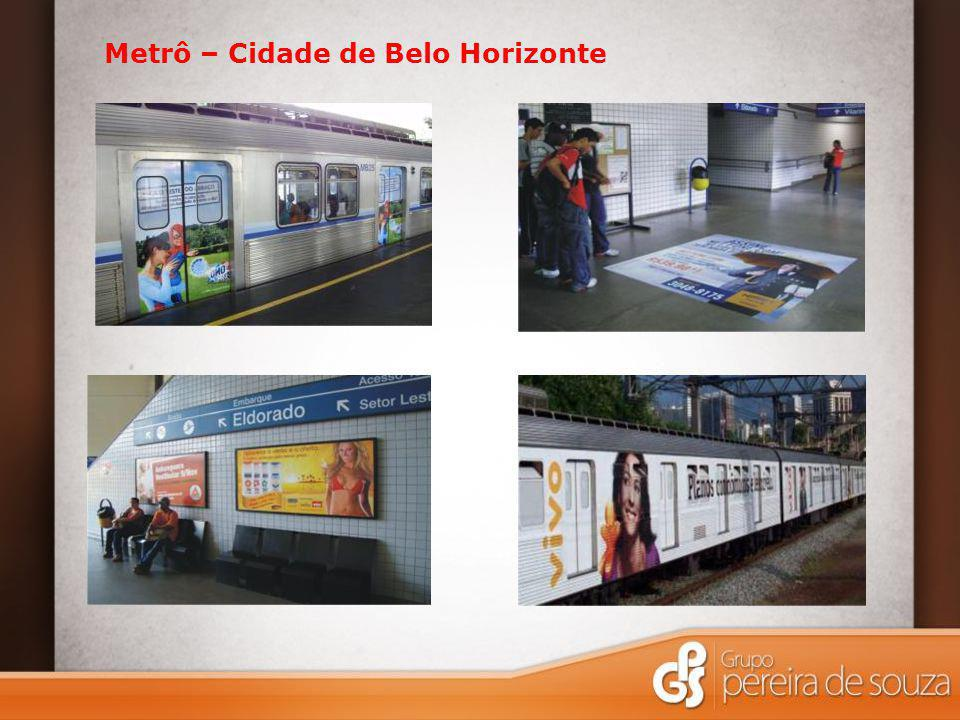 Metrô – Cidade de Belo Horizonte