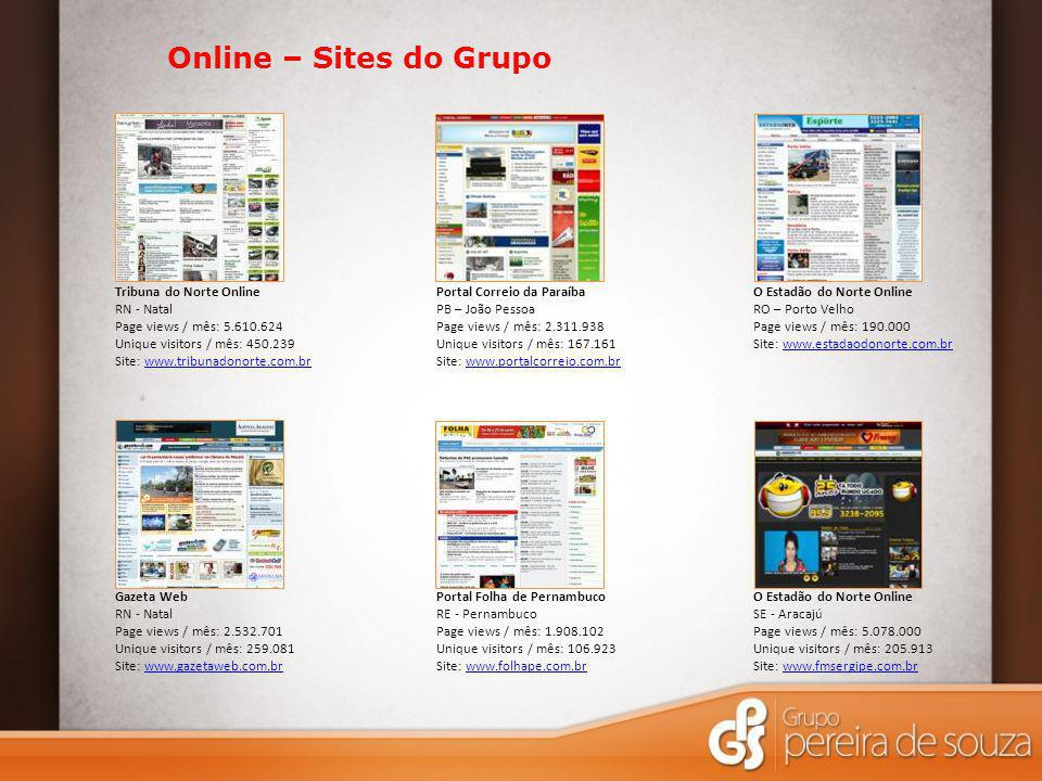 Online – Sites do Grupo Tribuna do Norte Online RN - Natal