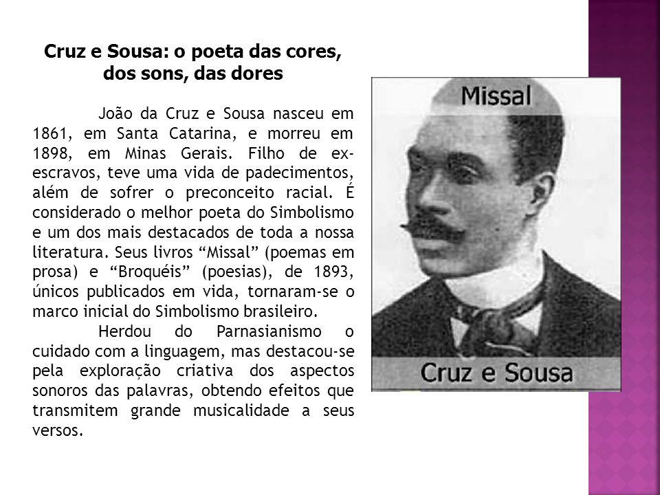 Cruz e Sousa: o poeta das cores, dos sons, das dores