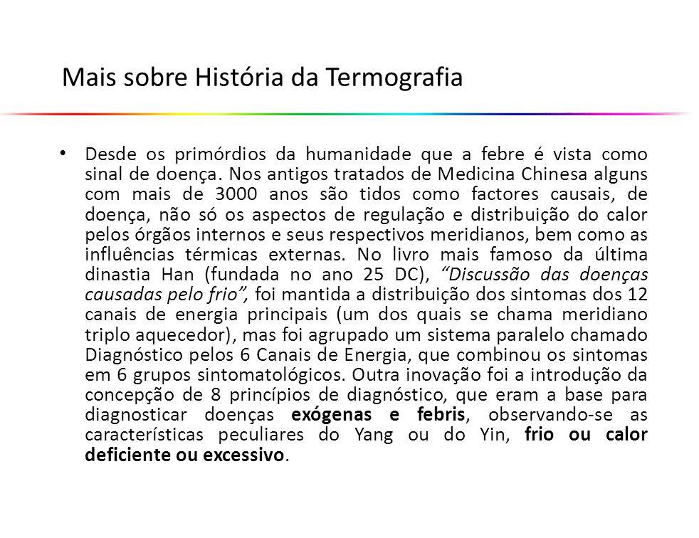 Mais sobre História da Termografia