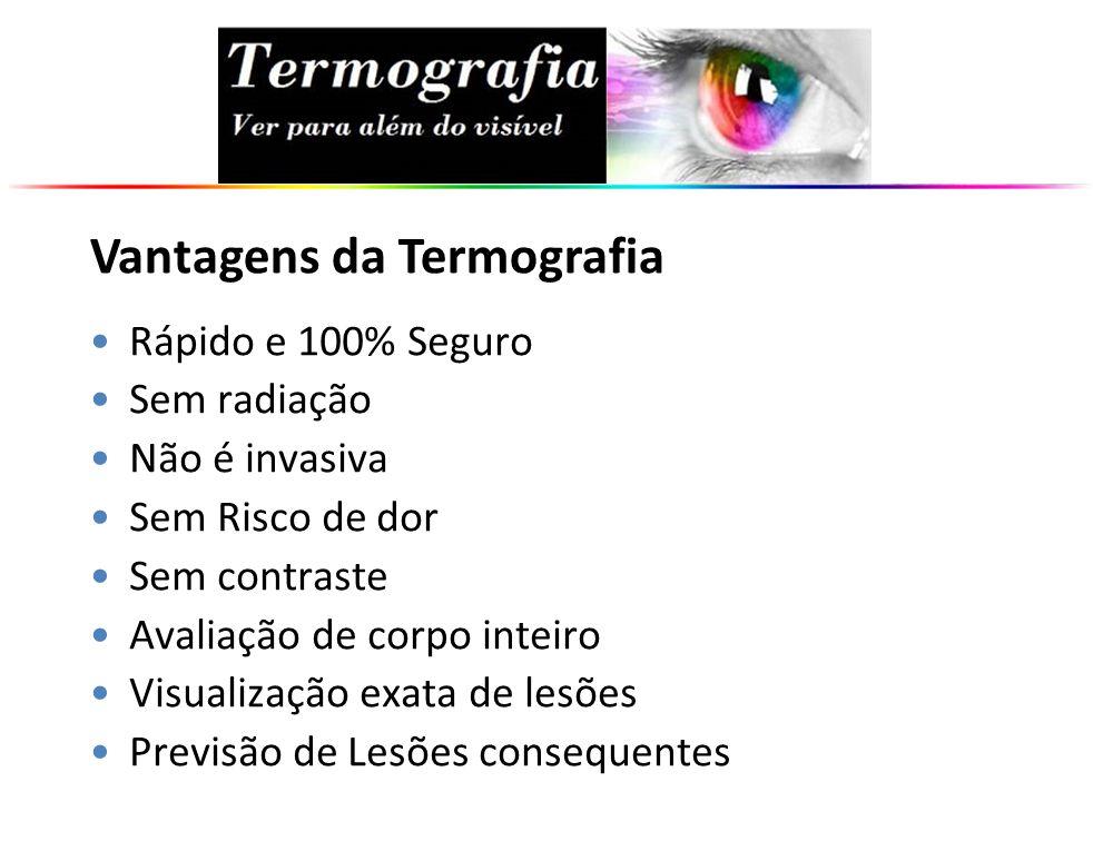 Vantagens da Termografia