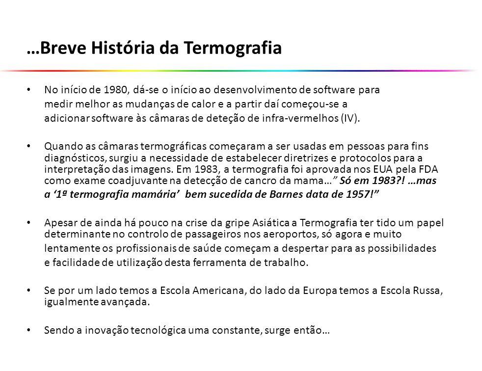 …Breve História da Termografia