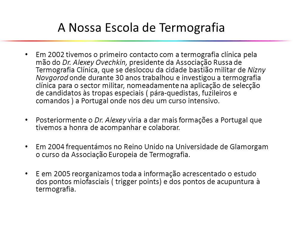 A Nossa Escola de Termografia