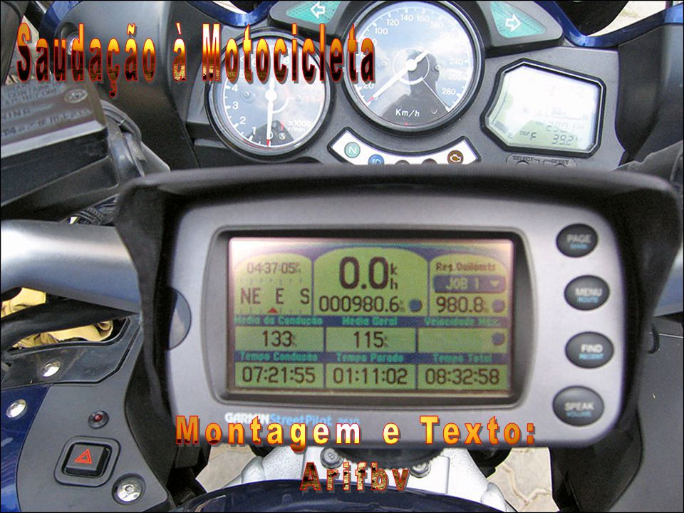Saudação à Motocicleta