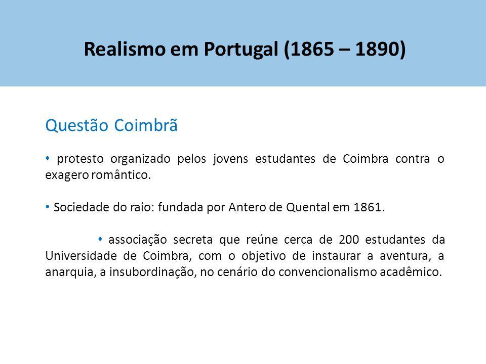 Realismo em Portugal (1865 – 1890)