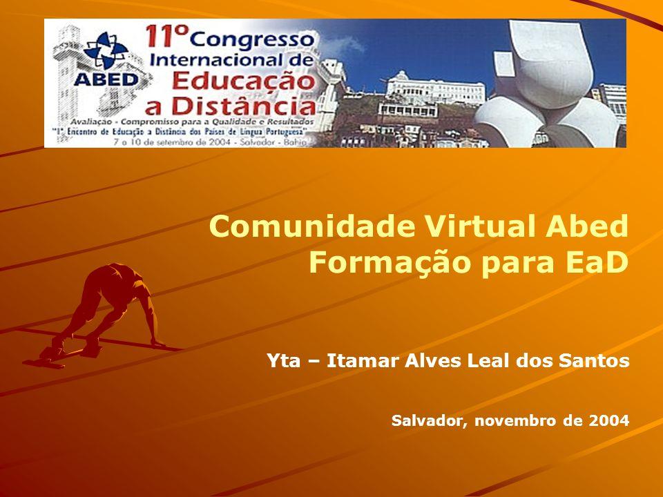 Comunidade Virtual Abed Formação para EaD