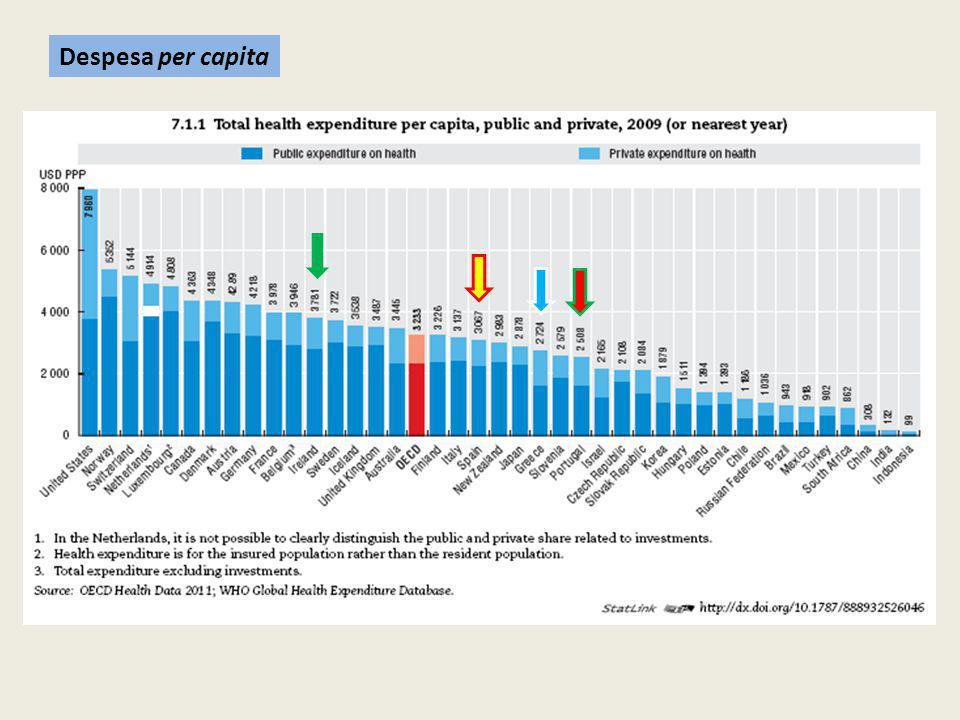 Despesa per capita