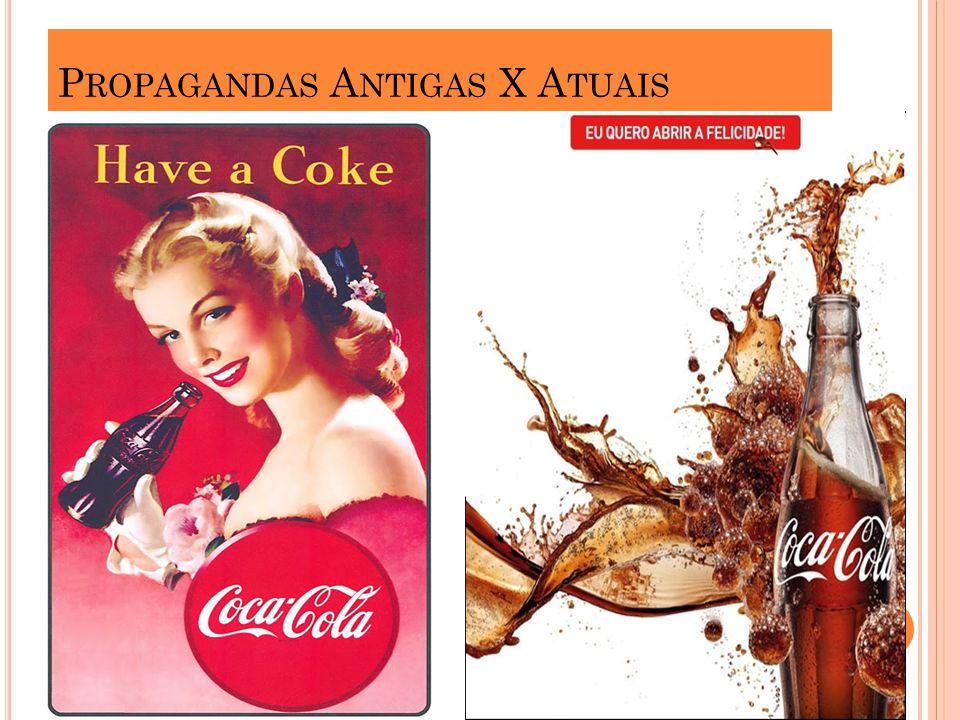 Propagandas Antigas X Atuais