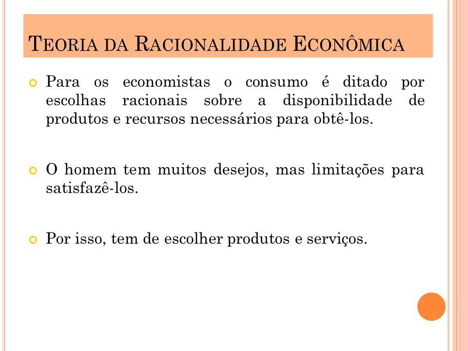 Teoria da Racionalidade Econômica