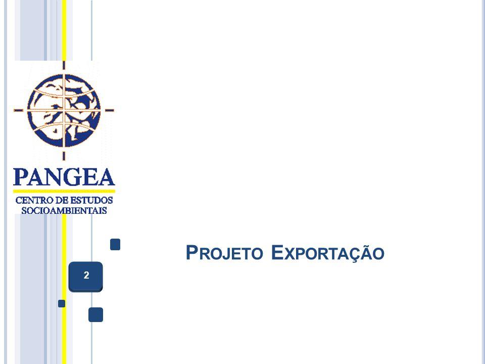 Projeto Exportação