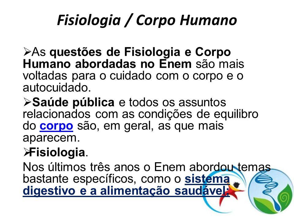 Fisiologia / Corpo Humano