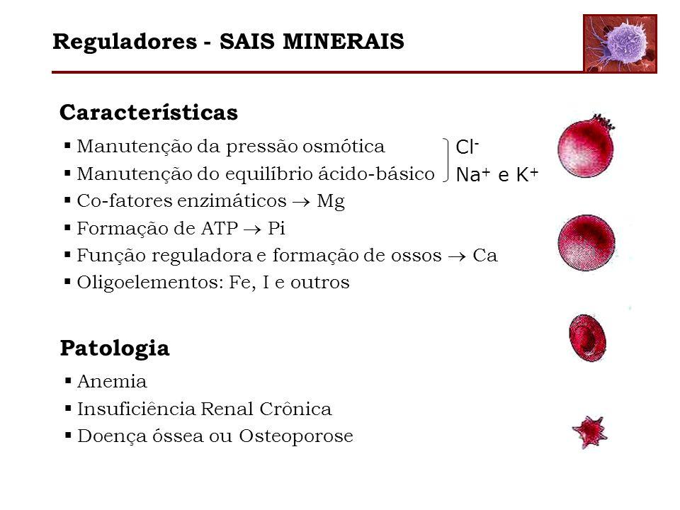 Reguladores - SAIS MINERAIS