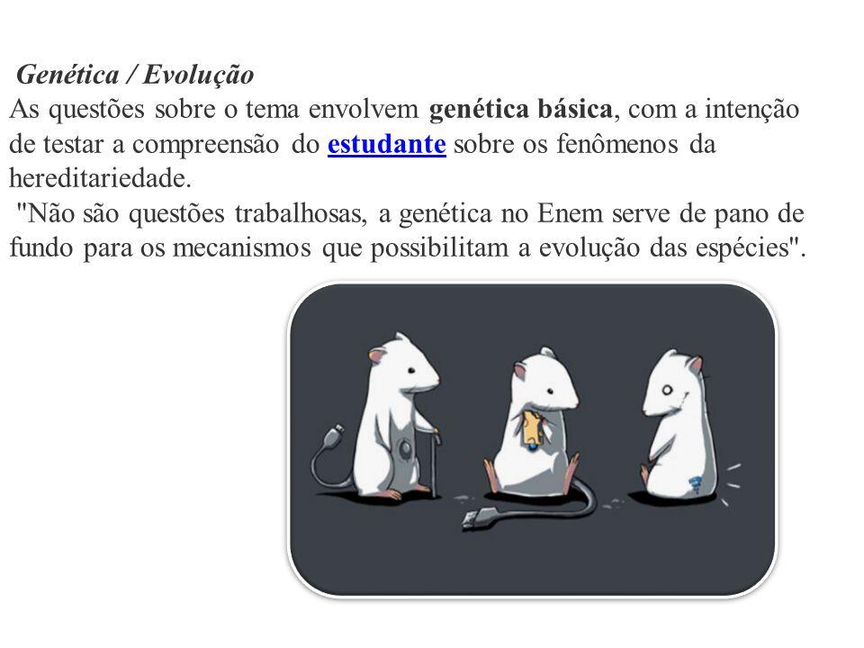 Genética / Evolução