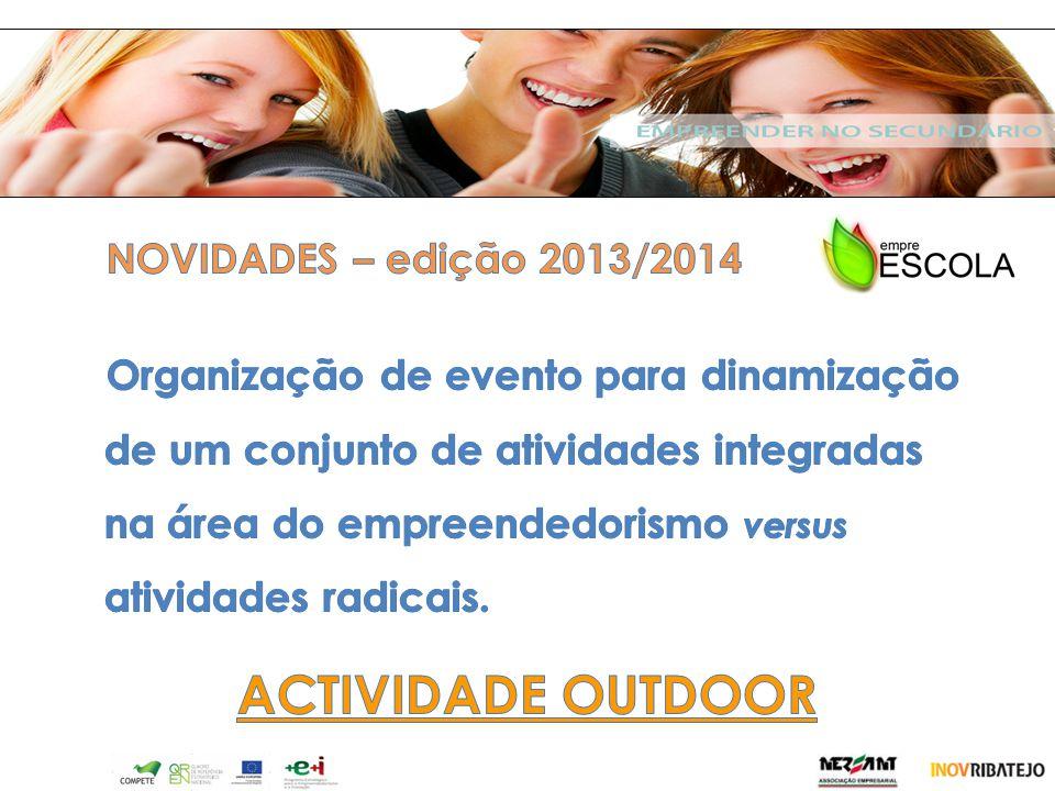 v ACTIVIDADE OUTDOOR NOVIDADES – edição 2013/2014