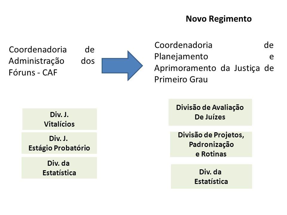 Coordenadoria de Administração dos Fóruns - CAF