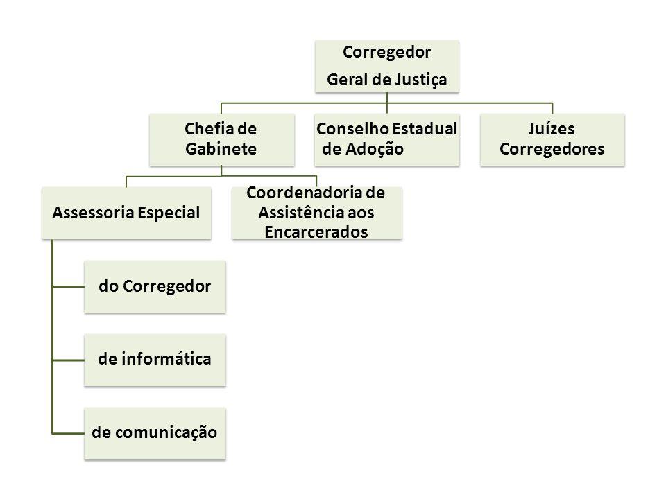 Conselho Estadual de Adoção Juízes Corregedores