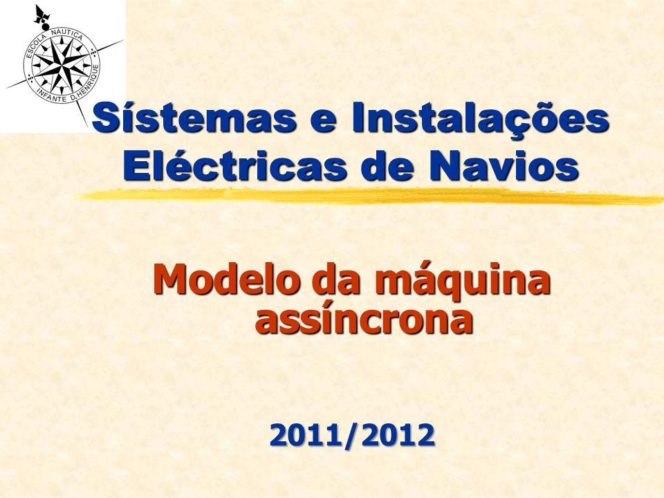 Sístemas e Instalações Eléctricas de Navios