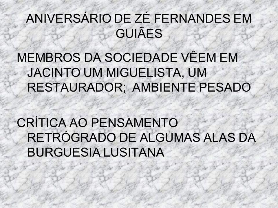 ANIVERSÁRIO DE ZÉ FERNANDES EM GUIÃES