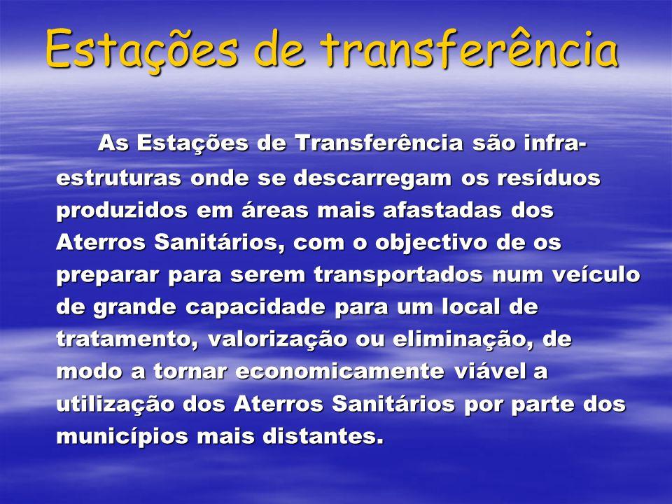 Estações de transferência