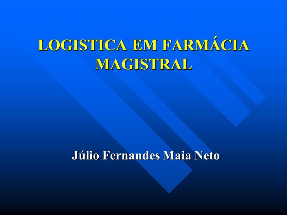 LOGISTICA EM FARMÁCIA MAGISTRAL