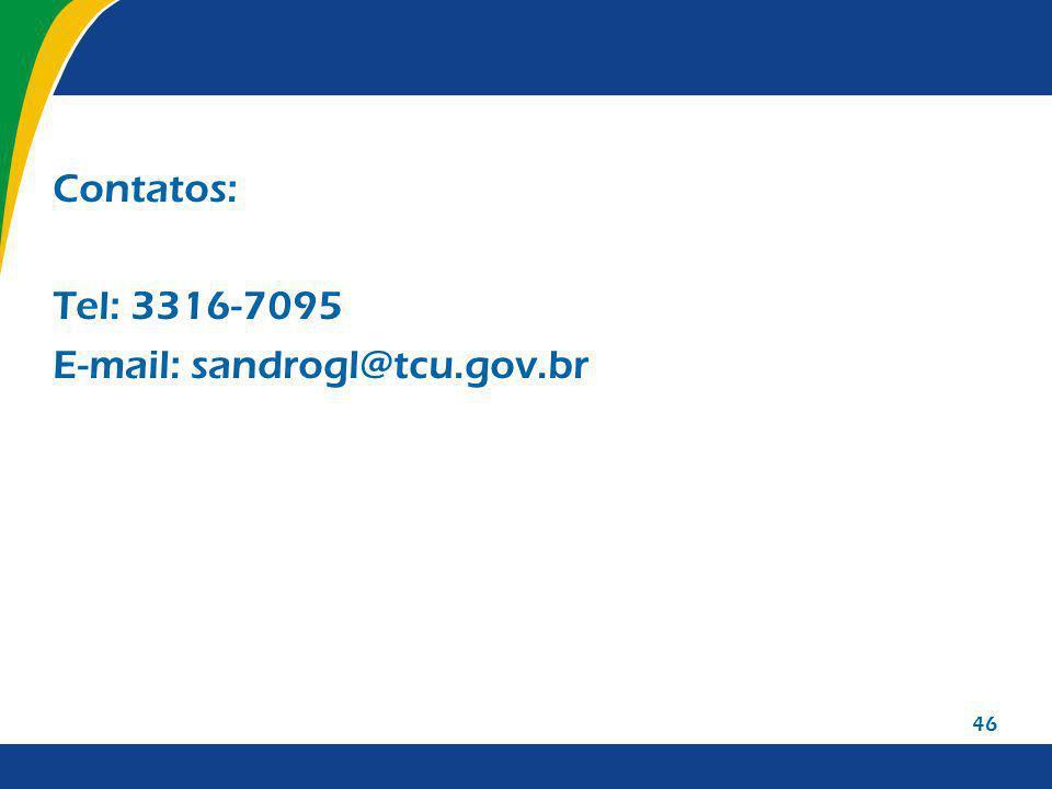 E-mail: sandrogl@tcu.gov.br