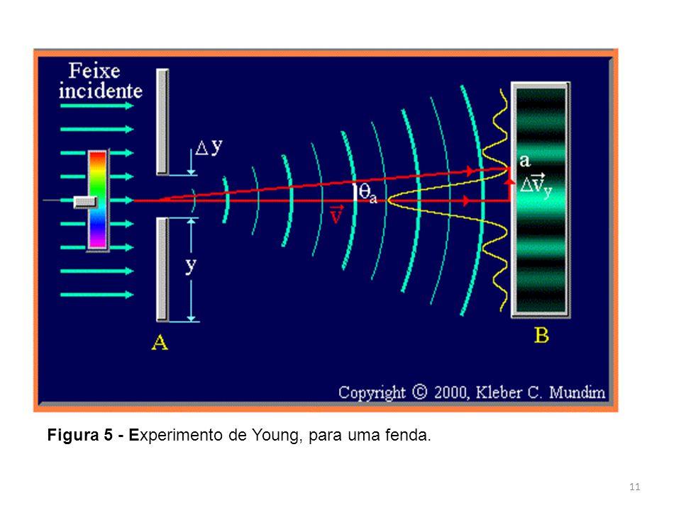 Figura 5 - Experimento de Young, para uma fenda.