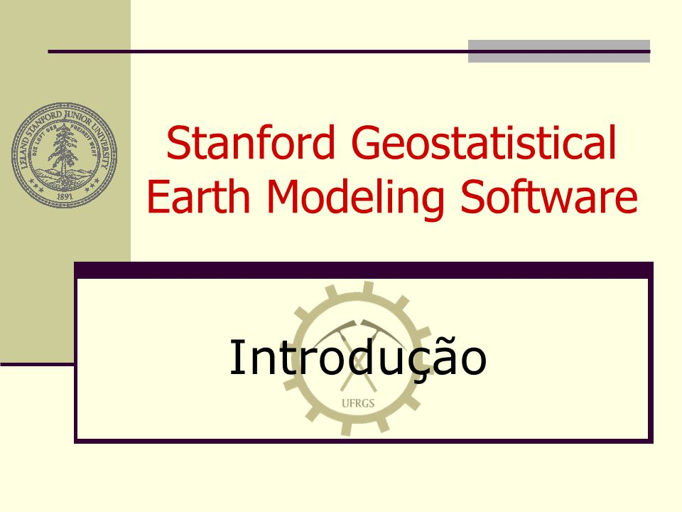Stanford Geostatistical Earth Modeling Software